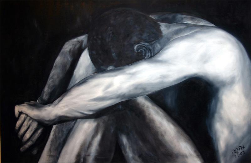 Tina Roth Art portr4 Malerei Kunst Bild